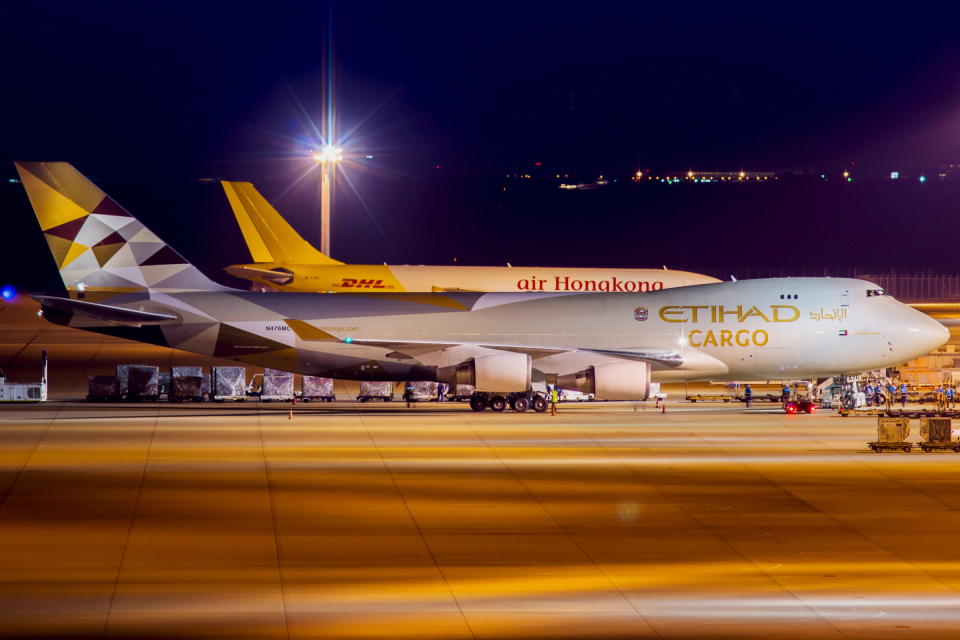 Mar Changさんのアトラス航空 Boeing 747-400 (N476MC) 航空フォト