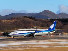 malkonenさんが、函館空港で撮影した全日空 737-881の航空フォト(飛行機 写真・画像)