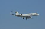 北の熊さんが、新千歳空港で撮影したWells Fargo Bank Northwest NA Trustee G-V-SP Gulfstream G550の航空フォト(飛行機 写真・画像)