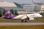 ドンムアン空港 - Don Muang Airport [DMK/VTBD]で撮影されたタイ・スマイル - Thai Smile [WE/THA]の航空機写真