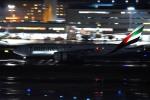 tsubasa0624さんが、羽田空港で撮影したエミレーツ航空 777-21H/LRの航空フォト(飛行機 写真・画像)