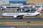 Chofu Spotter Ariaさんが、羽田空港で撮影した日本航空 767-346/ERの航空フォト(飛行機 写真・画像)