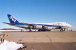 ATOMさんが、帯広空港で撮影した全日空 747SR-81の航空フォト(写真)