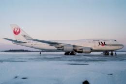 ATOMさんが、帯広空港で撮影した日本航空 747-446の航空フォト(写真)