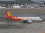 あしゅーさんが、福岡空港で撮影した香港エクスプレス A320-214の航空フォト(飛行機 写真・画像)