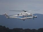あしゅーさんが、福岡空港で撮影した三井物産エアロスペース AW139の航空フォト(飛行機 写真・画像)