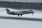 北の熊さんが、新千歳空港で撮影したジェイ・エア CL-600-2B19 Regional Jet CRJ-200ERの航空フォト(写真)