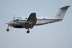 xxxxxzさんが、厚木飛行場で撮影したアメリカ海軍 200 Super King Airの航空フォト(飛行機 写真・画像)