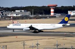 tsubasa0624さんが、成田国際空港で撮影したルフトハンザドイツ航空 A340-313Xの航空フォト(飛行機 写真・画像)