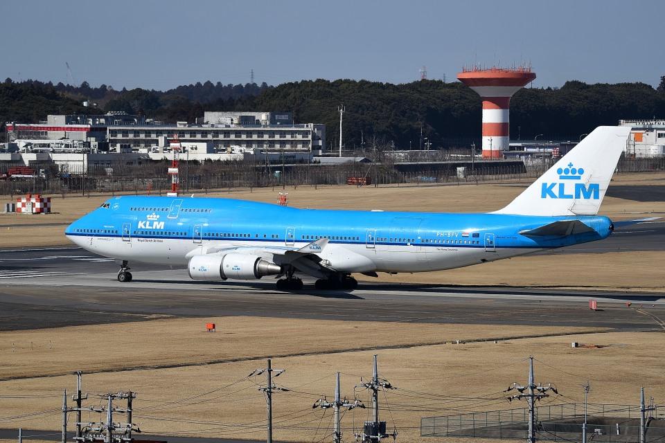 tsubasa0624さんのKLMオランダ航空 Boeing 747-400 (PH-BFV) 航空フォト