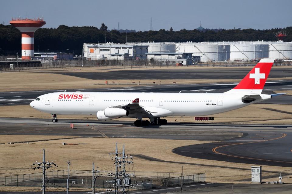 tsubasa0624さんのスイスインターナショナルエアラインズ Airbus A340-300 (HB-JMD) 航空フォト