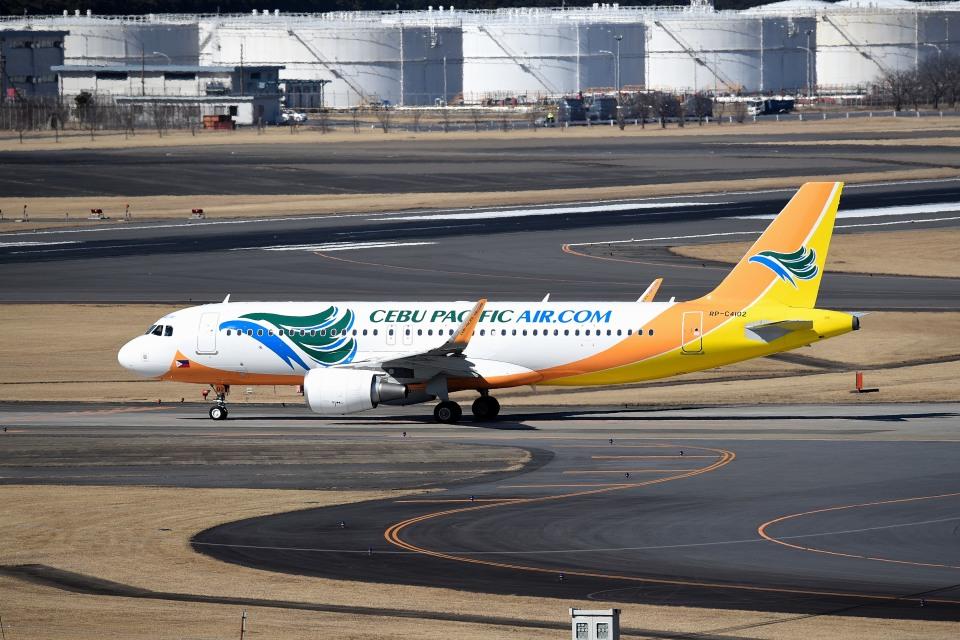 tsubasa0624さんのセブパシフィック航空 Airbus A320 (RP-C4102) 航空フォト