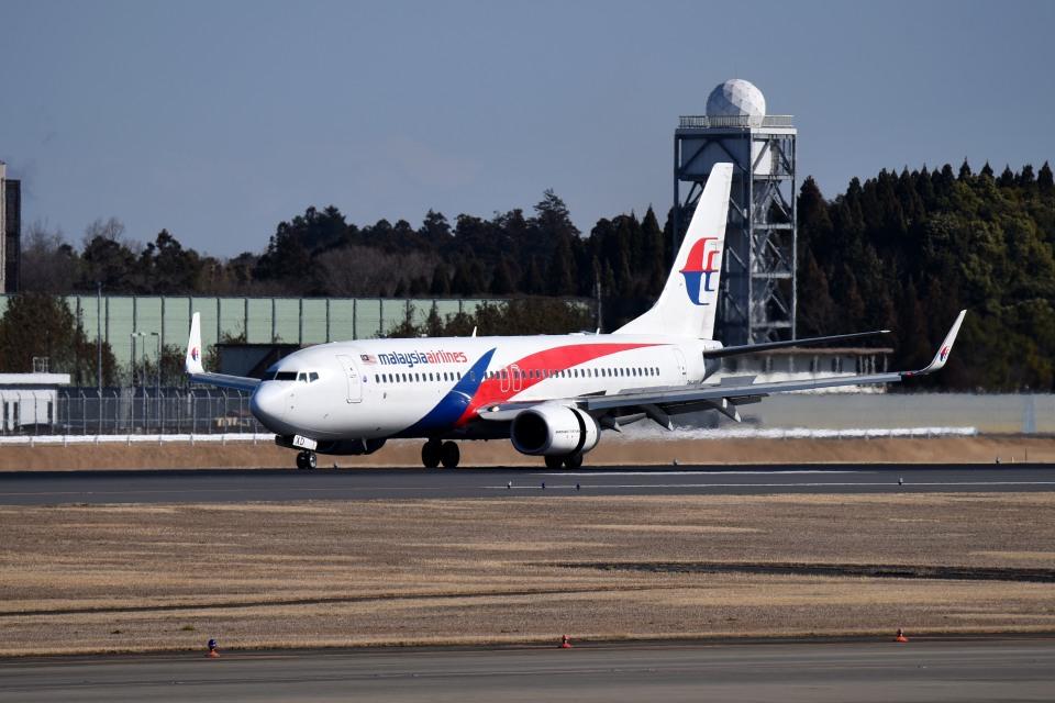 tsubasa0624さんのマレーシア航空 Boeing 737-800 (9M-MXD) 航空フォト
