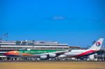 パンダさんが、成田国際空港で撮影した中国東方航空 A340-642の航空フォト(飛行機 写真・画像)