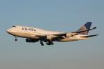 アイスコーヒーさんが、成田国際空港で撮影したユナイテッド航空 747-422の航空フォト(飛行機 写真・画像)