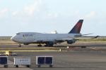 ATOMさんが、ダニエル・K・イノウエ国際空港で撮影したデルタ航空 747-451の航空フォト(写真)