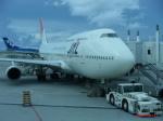 ポカール長田さんが、那覇空港で撮影した日本航空 747-446Dの航空フォト(写真)