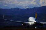 ふらっぺろんさんが、仙台空港で撮影したスカイマーク 737-81Dの航空フォト(写真)
