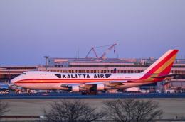 パンダさんが、成田国際空港で撮影したカリッタ エア 747-246F/SCDの航空フォト(飛行機 写真・画像)
