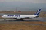 ハピネスさんが、関西国際空港で撮影した全日空 767-381/ER(BCF)の航空フォト(飛行機 写真・画像)