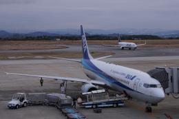 神宮寺ももさんが、米子空港で撮影した全日空 737-881の航空フォト(飛行機 写真・画像)
