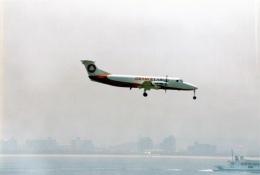 amagoさんが、関西国際空港で撮影したオレンジカーゴ 1900C-1の航空フォト(飛行機 写真・画像)