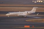 pringlesさんが、羽田空港で撮影したアメリカ企業所有 G-V-SP Gulfstream G550の航空フォト(写真)