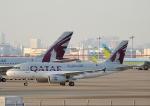 じーく。さんが、羽田空港で撮影したカタールアミリフライト A319-133X CJの航空フォト(飛行機 写真・画像)