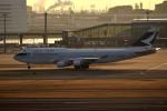 tsubasa0624さんが、羽田空港で撮影したキャセイパシフィック航空 747-412の航空フォト(写真)