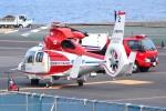 tsubasa0624さんが、横浜ヘリポートで撮影した横浜市消防航空隊 AS365N2 Dauphin 2の航空フォト(写真)