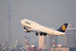 tsubasa0624さんが、羽田空港で撮影したルフトハンザドイツ航空 747-830の航空フォト(写真)
