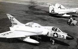 rjccさんが、千歳飛行場で撮影したアメリカ海兵隊 F4D-1 Skyrayの航空フォト(飛行機 写真・画像)