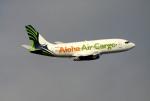 JRF spotterさんが、ダニエル・K・イノウエ国際空港で撮影したアロハ・エア・カーゴ 737-2X6C/Advの航空フォト(写真)