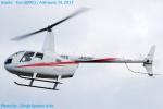 Chofu Spotter Ariaさんが、八尾空港で撮影した日本個人所有 R66 Turbineの航空フォト(飛行機 写真・画像)