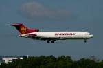 RUSSIANSKIさんが、シンガポール・チャンギ国際空港で撮影したトランスマイル・エア・サービス 727-247/Adv(F)の航空フォト(写真)
