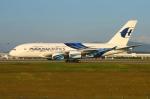 RUSSIANSKIさんが、クアラルンプール国際空港で撮影したマレーシア航空 A380-841の航空フォト(写真)