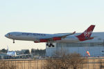 夏奈さんが、成田国際空港で撮影したヴァージン・アトランティック航空 A340-313の航空フォト(写真)