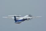 パンダさんが、松山空港で撮影したANAウイングス DHC-8-402Q Dash 8の航空フォト(飛行機 写真・画像)