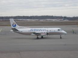 TKOさんが、ヘルシンキ空港で撮影したエア・フィンランド Saab 340の航空フォト(飛行機 写真・画像)