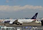 じーく。さんが、羽田空港で撮影したLOTポーランド航空 787-8 Dreamlinerの航空フォト(写真)