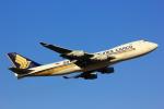 げんこつさんが、成田国際空港で撮影したシンガポール航空カーゴ 747-412F/SCDの航空フォト(写真)