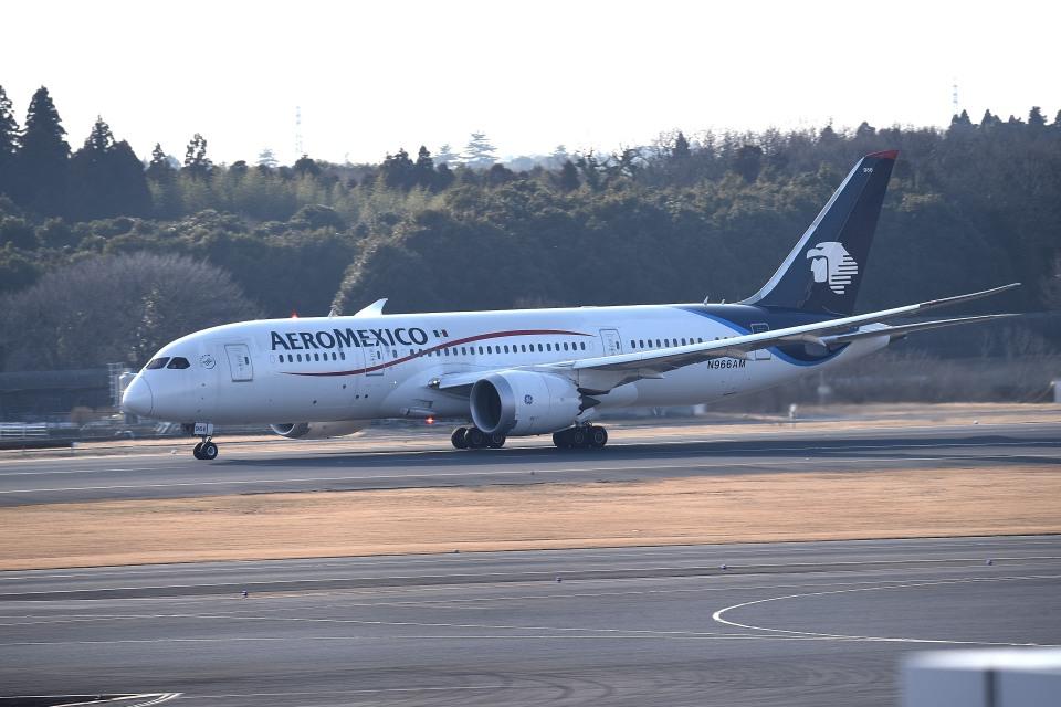 tsubasa0624さんのアエロメヒコ航空 Boeing 787-8 Dreamliner (N966AM) 航空フォト