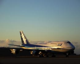 美しい飛行機さんが、福島空港で撮影した全日空 747-481(D)の航空フォト(飛行機 写真・画像)
