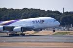 スーパードルフィンさんが、成田国際空港で撮影したタイ国際航空 A380-841の航空フォト(写真)