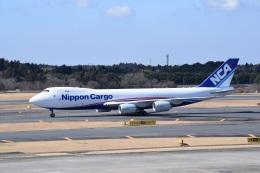 スーパードルフィンさんが、成田国際空港で撮影した日本貨物航空 747-8KZF/SCDの航空フォト(飛行機 写真・画像)