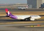 じーく。さんが、羽田空港で撮影したハワイアン航空 A330-243の航空フォト(飛行機 写真・画像)