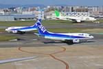 ふじいあきらさんが、福岡空港で撮影したANAウイングス 737-54Kの航空フォト(写真)