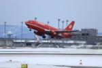 オポッサムさんが、新千歳空港で撮影したオーロラ 737-2J8/Advの航空フォト(写真)