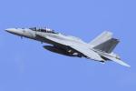 Atsugi R4さんが、厚木飛行場で撮影したアメリカ海軍 F/A-18F Super Hornetの航空フォト(写真)