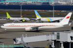 Chofu Spotter Ariaさんが、羽田空港で撮影したバーレーン王室航空 767-4FS/ERの航空フォト(飛行機 写真・画像)